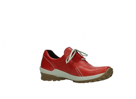 wolky lace up shoes 01739 yellowstone 20500 red leather_15