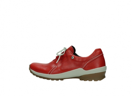 wolky lace up shoes 01739 yellowstone 20500 red leather_2