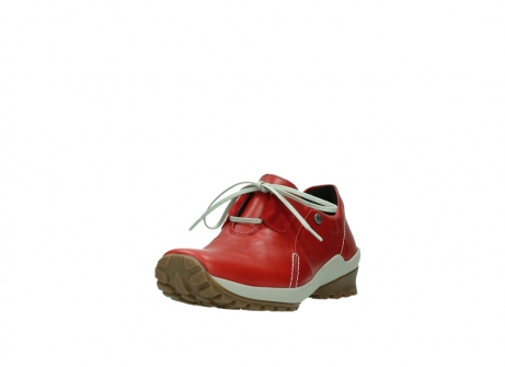 wolky lace up shoes 01739 yellowstone 20500 red leather_21