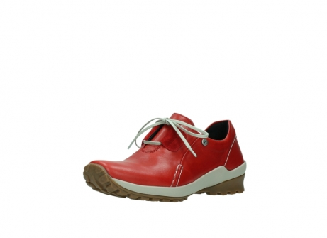 wolky lace up shoes 01739 yellowstone 20500 red leather_22