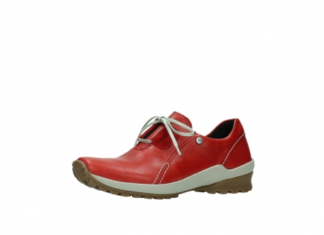 wolky lace up shoes 01739 yellowstone 20500 red leather_23