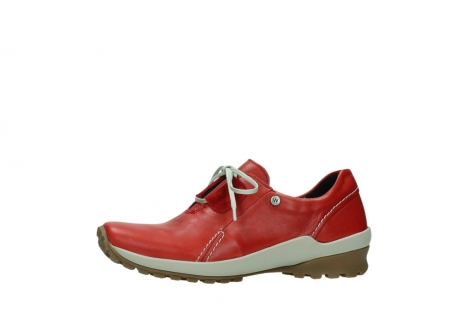 wolky lace up shoes 01739 yellowstone 20500 red leather_24