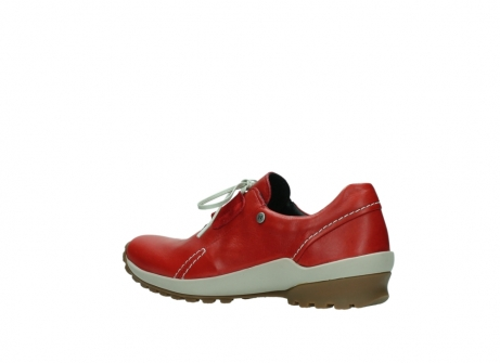 wolky lace up shoes 01739 yellowstone 20500 red leather_3