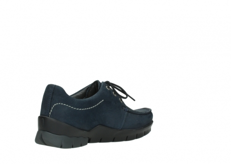 wolky lace up shoes 01750 natalia 11802 blue oiled nubuck_10