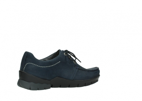 wolky lace up shoes 01750 natalia 11802 blue oiled nubuck_11