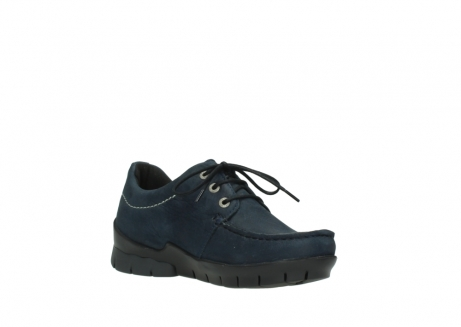 wolky lace up shoes 01750 natalia 11802 blue oiled nubuck_16