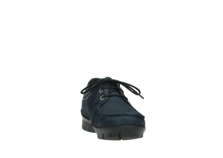 wolky lace up shoes 01750 natalia 11802 blue oiled nubuck_18