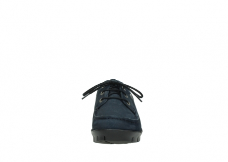 wolky lace up shoes 01750 natalia 11802 blue oiled nubuck_19
