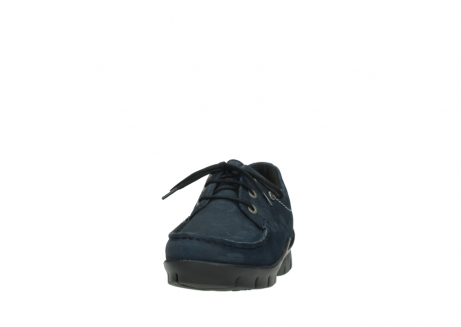 wolky lace up shoes 01750 natalia 11802 blue oiled nubuck_20