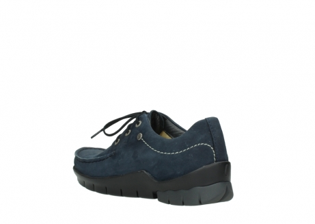 wolky lace up shoes 01750 natalia 11802 blue oiled nubuck_4