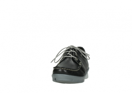 wolky lace up shoes 01750 natalia 70070 black leather_20