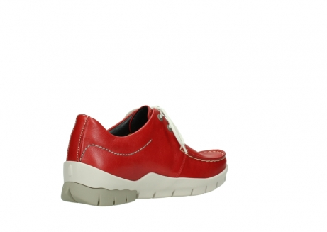 wolky lace up shoes 01750 natalia 70570 red leather_10