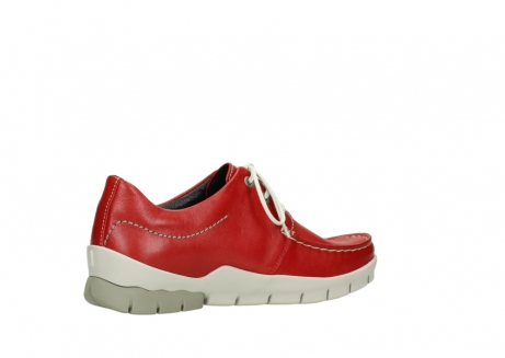 wolky lace up shoes 01750 natalia 70570 red leather_11