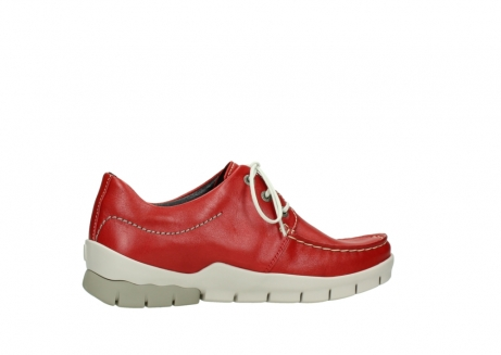 wolky lace up shoes 01750 natalia 70570 red leather_12