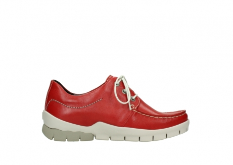 wolky lace up shoes 01750 natalia 70570 red leather_13