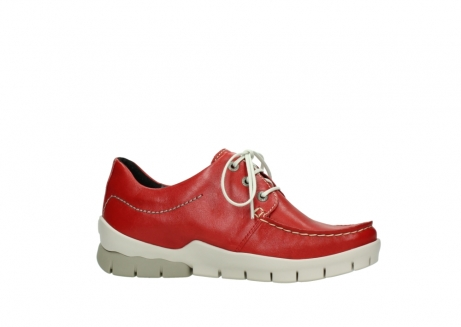 wolky lace up shoes 01750 natalia 70570 red leather_14