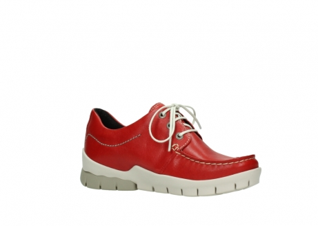 wolky lace up shoes 01750 natalia 70570 red leather_15