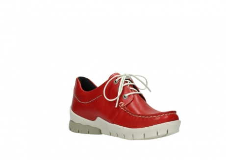wolky lace up shoes 01750 natalia 70570 red leather_16