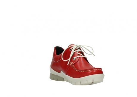 wolky lace up shoes 01750 natalia 70570 red leather_17