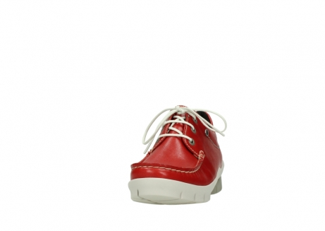wolky lace up shoes 01750 natalia 70570 red leather_20