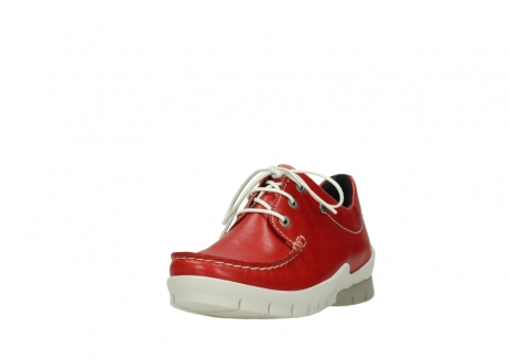wolky lace up shoes 01750 natalia 70570 red leather_21