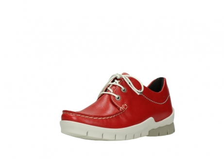 wolky lace up shoes 01750 natalia 70570 red leather_22