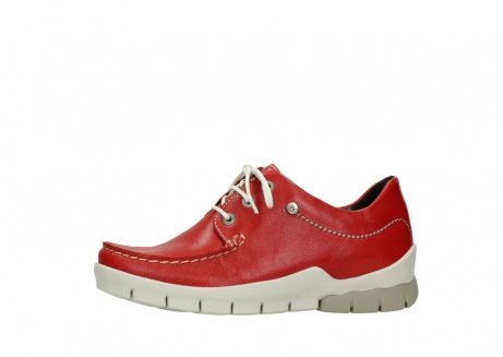 wolky lace up shoes 01750 natalia 70570 red leather_24
