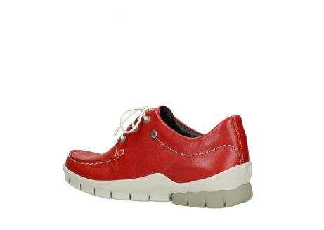 wolky lace up shoes 01750 natalia 70570 red leather_3