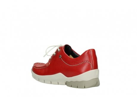 wolky lace up shoes 01750 natalia 70570 red leather_4