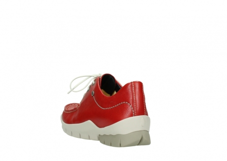 wolky lace up shoes 01750 natalia 70570 red leather_5