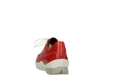 wolky lace up shoes 01750 natalia 70570 red leather_6