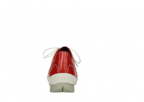 wolky lace up shoes 01750 natalia 70570 red leather_7