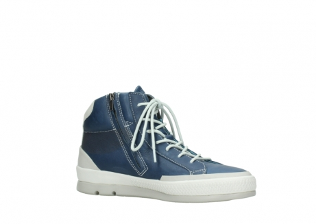 wolky bottines a lacets 01925 bromo 30840 cuir denimbleu_15