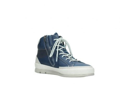 wolky bottines a lacets 01925 bromo 30840 cuir denimbleu_16