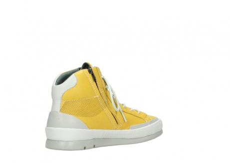 wolky lace up boots 01925 bromo 30900 yellow leather_10