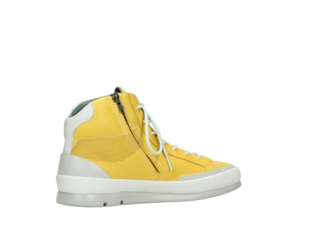 wolky lace up boots 01925 bromo 30900 yellow leather_11