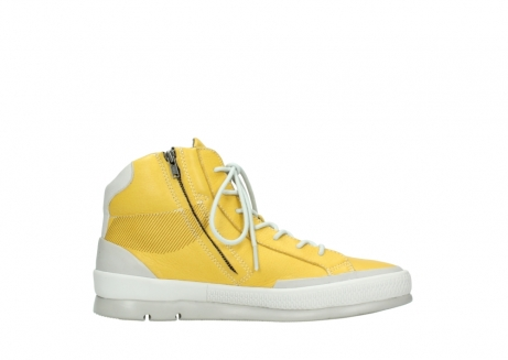 wolky lace up boots 01925 bromo 30900 yellow leather_13