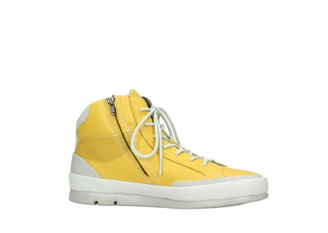 wolky lace up boots 01925 bromo 30900 yellow leather_14