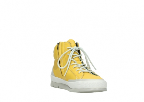 wolky lace up boots 01925 bromo 30900 yellow leather_17