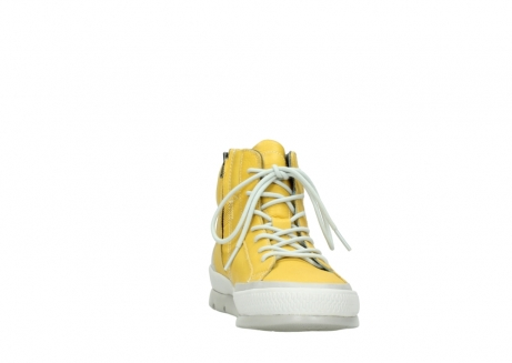 wolky lace up boots 01925 bromo 30900 yellow leather_18