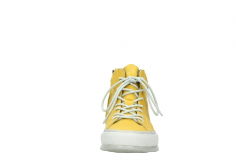 wolky lace up boots 01925 bromo 30900 yellow leather_19