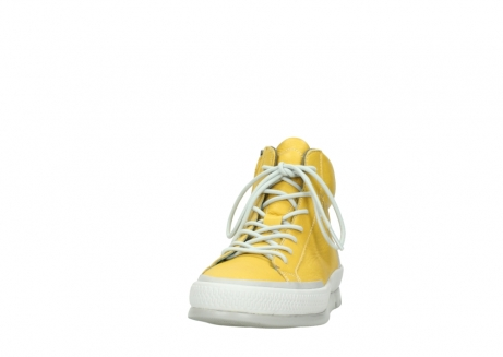 wolky lace up boots 01925 bromo 30900 yellow leather_20
