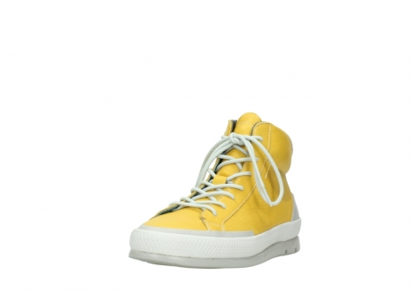 wolky lace up boots 01925 bromo 30900 yellow leather_21