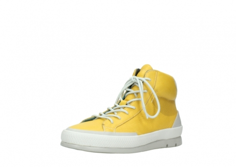 wolky lace up boots 01925 bromo 30900 yellow leather_22
