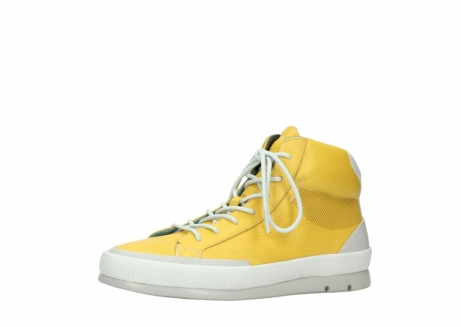 wolky lace up boots 01925 bromo 30900 yellow leather_23