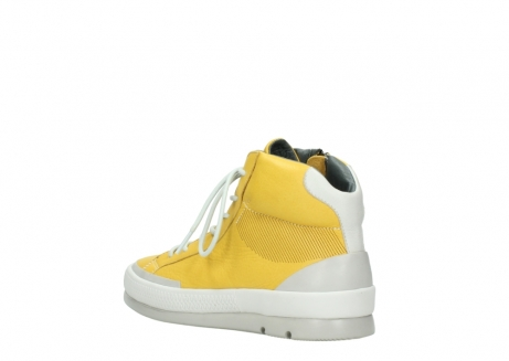 wolky lace up boots 01925 bromo 30900 yellow leather_4