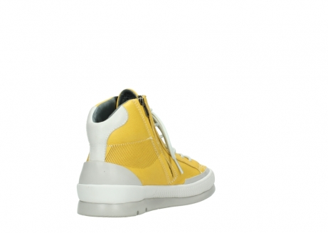 wolky lace up boots 01925 bromo 30900 yellow leather_9
