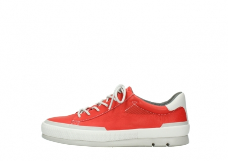 wolky lace up shoes 01926 katla 30500 red leather_1