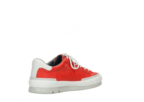 wolky lace up shoes 01926 katla 30500 red leather_10