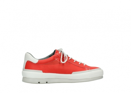 wolky lace up shoes 01926 katla 30500 red leather_12